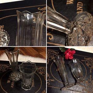 Vintage Accents - 🦋2/$10 3/$15 4/$18 5/$20 Vintage Vase Set